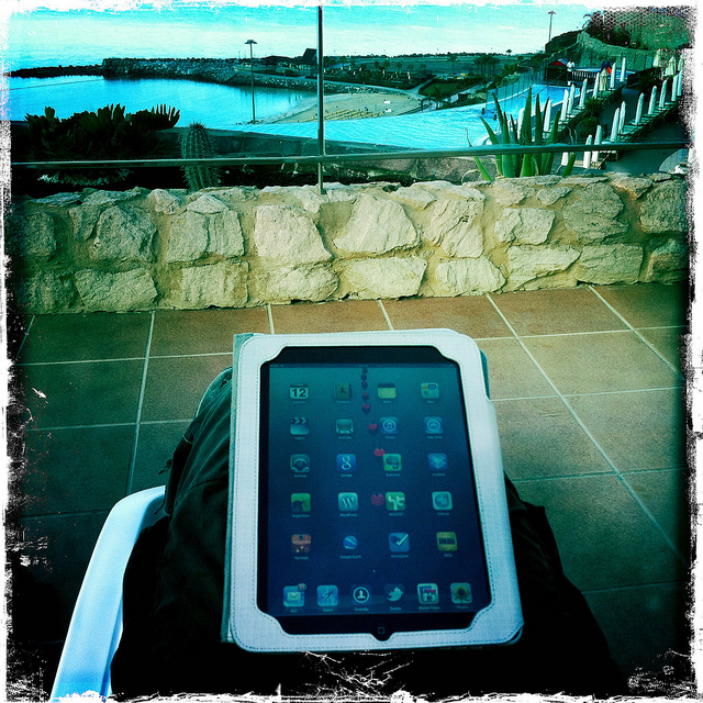 iPad Vacation
