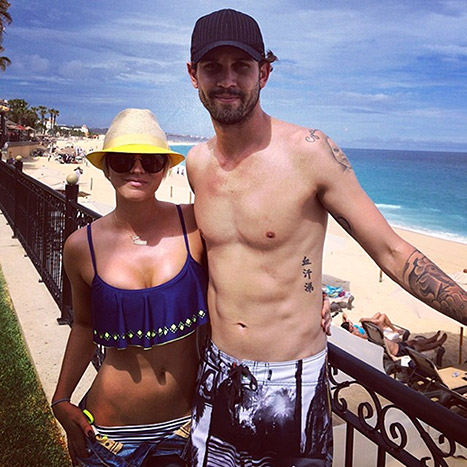 Kaley and Ryan in Cabo